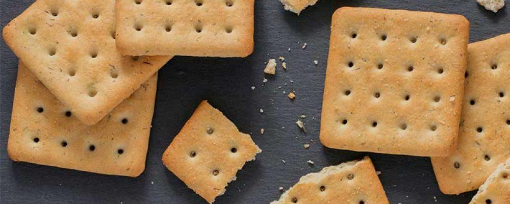 Brosse crackers met boeren eiersalade